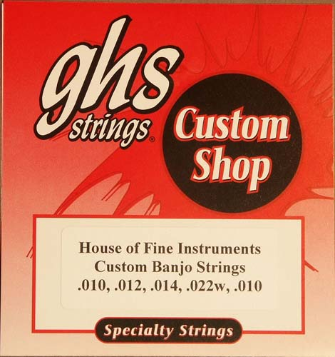 GHS HOFI Custom Banjo Strings Product
