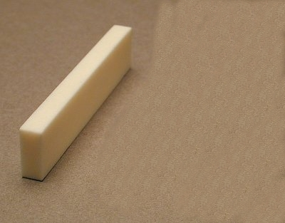 Bone Guitar Nut Blank Product