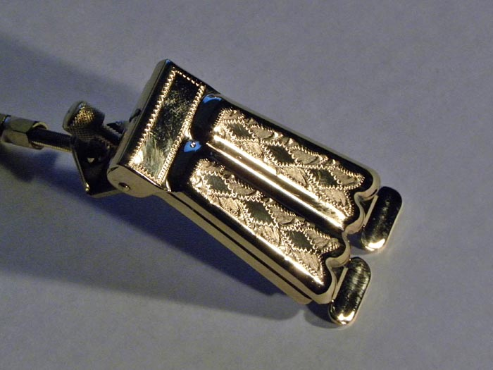 "Prucha 2-Hump ""Bella Voce"" Style Tailpiece Product"