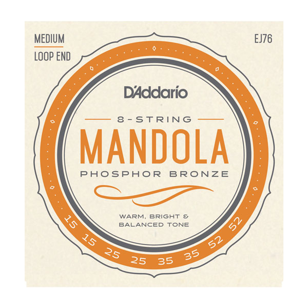 D'Addario Medium Gauge Mandola Strings EJ76 Product