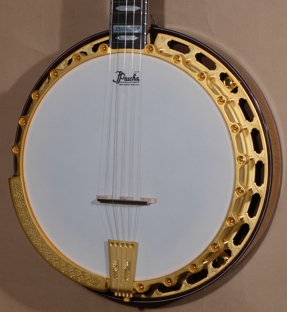 New Prucha Top Tension Custom RB-18 Style Banjo – On Hold Product