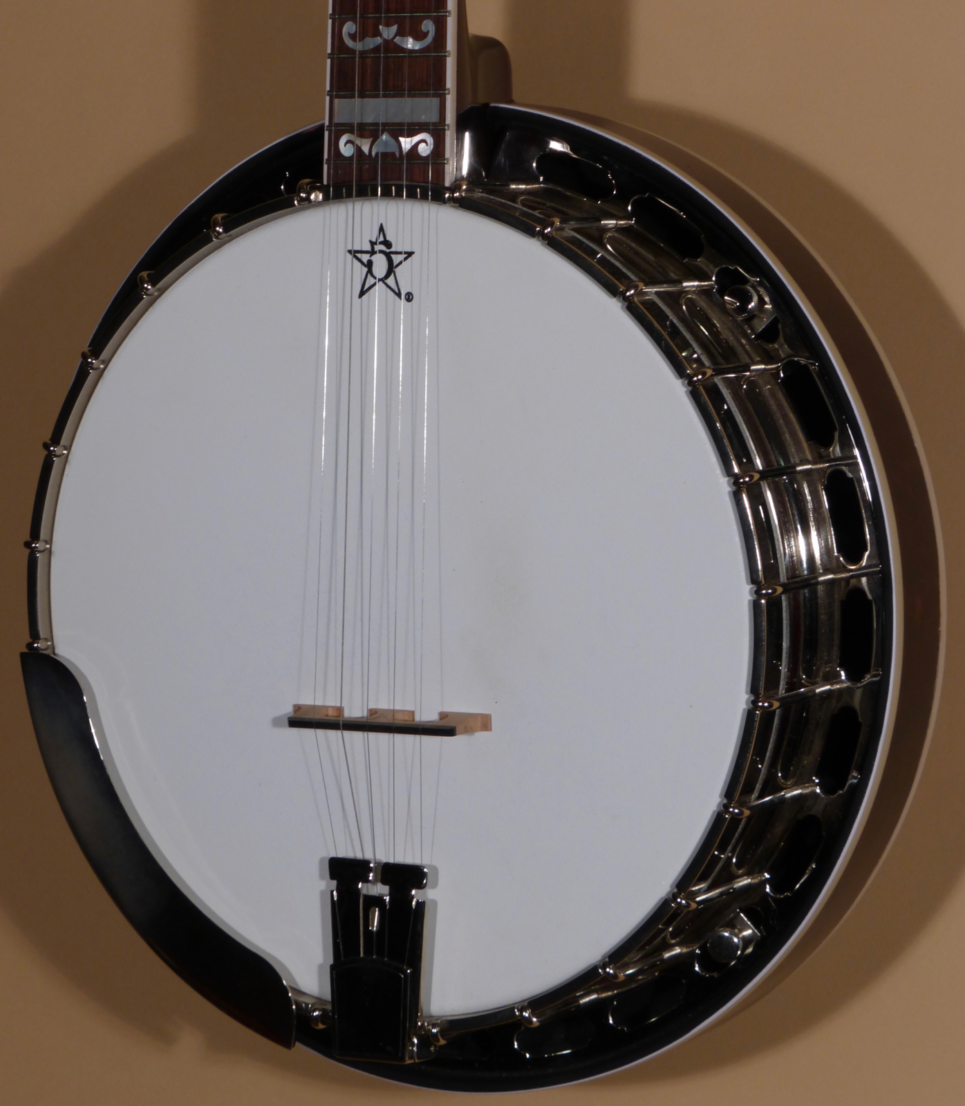 """2017 Streeper """"Black Cherry"""" Quilted Maple 5-String Banjo (Demo) Product"""